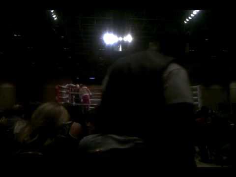Bradley Blankenship Professional Boxing Debut @ Ri...