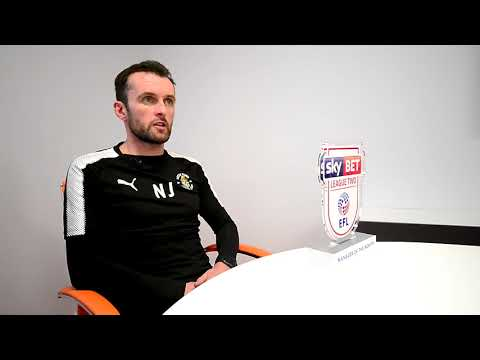 Nathan Jones - Sky Bet League Two Manager of the Month