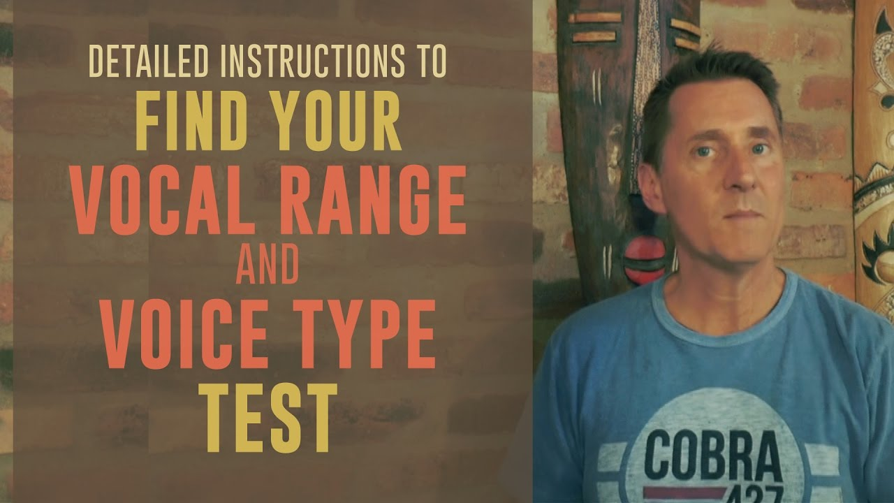 Find Your Vocal Range And Voice Type Test  Vocal Nebula