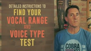 Find Your Vocal Range and Voice Type Test | VOCAL NEBULA