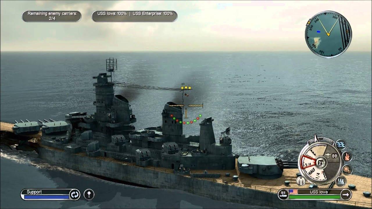 Battlestations Pacific Allies Walkthrough 1