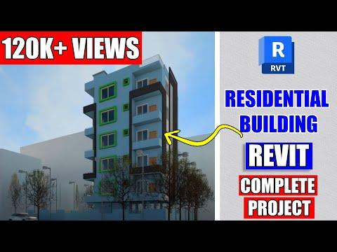 Residential Building Design In Revit Architecture Tutorial #19