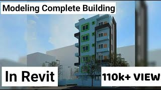 Revit Complete Project #10   Modeling Residential Building In Revit