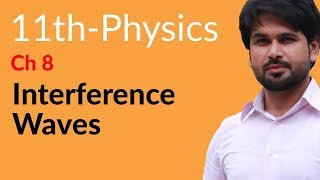 First Year Physics, Ch 8 - Explain Interference Waves - FSc Physics Book 1