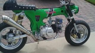 honda ct70 cafe racer 140cc