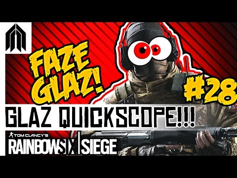 Rainbow Six: Siege Funny Moments! - Sniping with Glaz, Sneaky Hostage Extraction & Kapkan Fails