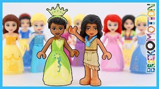 Tiana & Pocahontas: the Missing Princesses from LEGO Disney