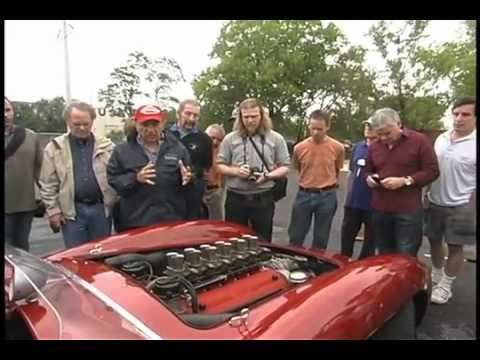 Italian Racing Red - 9/24/11 Demonstration Day - Official Simeone Automotive Museum Video