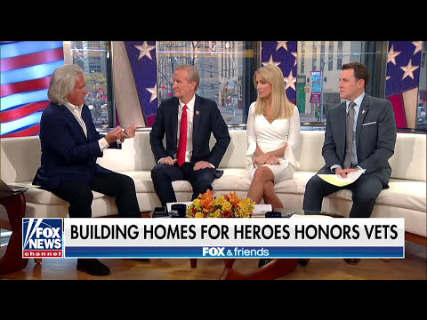 Building Homes for Heroes honors vets at annual event