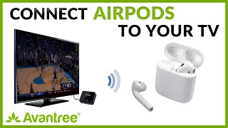 Using Apple Airpods with any TV via Avantree Audikast