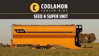 Coolamon Chaser Bins - Seed & Super Unit