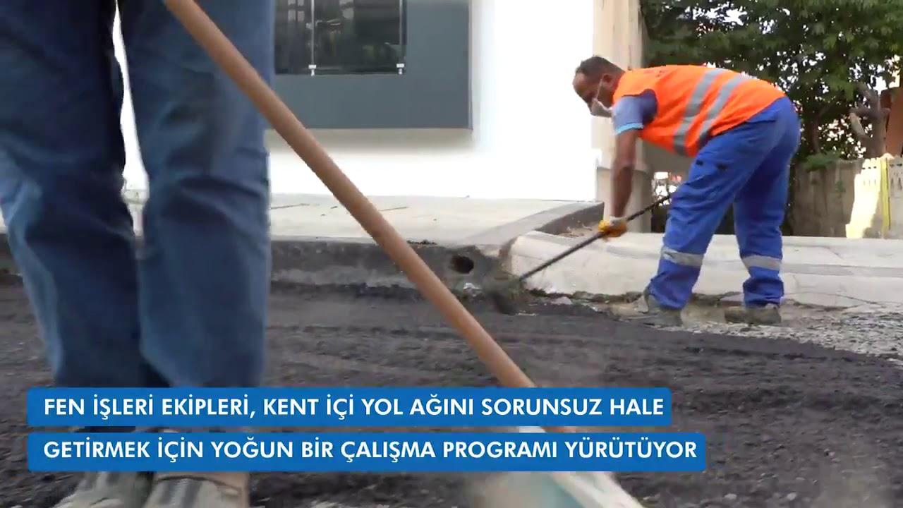 Atakum Belediyesi Asfaltlama Çalışmaları Devam Ediyor.