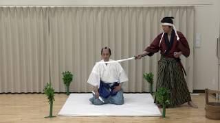 外国人観光客向けの「殺陣教室」です。 詳細は www.becomesamurai.com O...