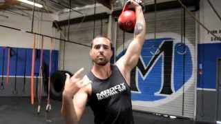 Build Stronger Shoulders with this Kettlebell Exercise