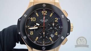 Швейцарские часы Hublot Big Bang Gold Ceramic.(, 2014-04-02T13:26:23.000Z)