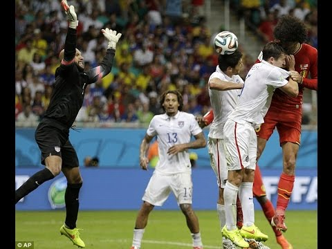 Tim Howard - World Cup Record - All 16 Saves - USA Vs Belgium