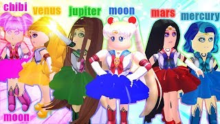 "SAILOR MOON & THE SAILOR SCOUTS 🌙 EP.1 ""A STRANGE NEW WORLD"" Roblox Royale High"