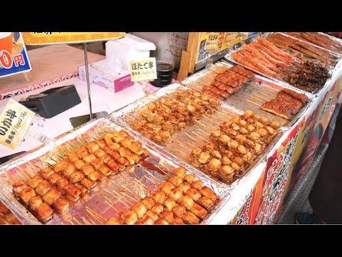Amazing JAPANESE STREET FOOD- TSUKIJI Fish Market, TOKYO, JAPAN