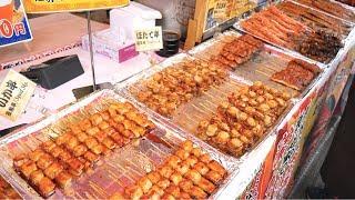JAPANESE STREET FOOD- TSUKIJI Fish Market, TOKYO, JAPAN