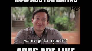 How Ads for Dating Apps Are Like!