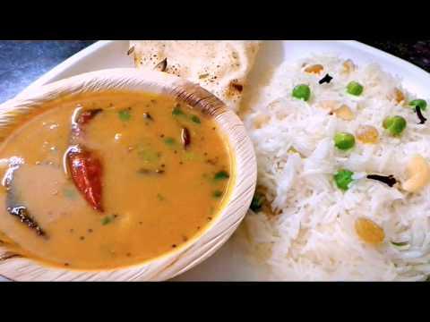 स्पेशियल गुजराती दाल चावल बनाने की परफेक्ट रीत|Gujarati Dal Chawal|Gujarati Khatti Mithi Dal|