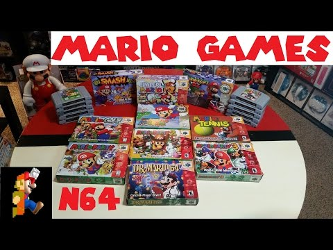 Pricing Guide: N64 Mario Games | Nintendo Collecting