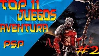 TOP 11| LOS MEJORES JUEGOS DE AVENTURA PARA PSP | LINK DE DESCARGA #2