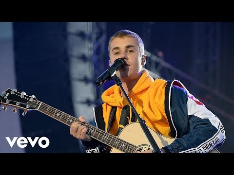 Justin Bieber - Love Yourself & Cold Water (One Love Manchester)