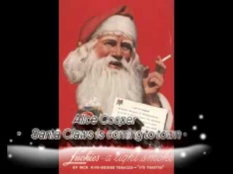 Alice Cooper Santa Claws