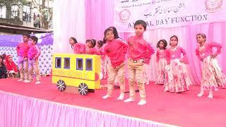#2k18 #2k19 #NurseryRhymes     Wheel On The Bus Goes Round And Round |English poem|Nursery Rhymes|