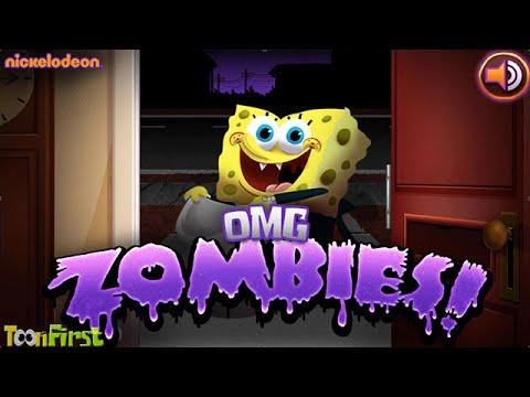 nickelodeon omg zombies nick spongebob games halloween night 3 completed - Spongebob Halloween Game