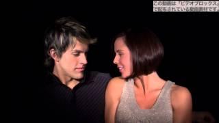 フリー動画素材 外国人カップルのキス映像 ll0000a258