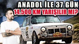 Yerli Yarış Arabası Anadol ile Pekin'den Paris'e 37 Günde 14.500 Km Yarışılır mı?