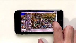 I have run Windows 95 and SimCity 2000 on iPhone X!
