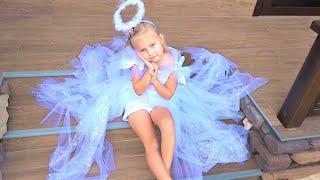 Download Алиса и мама сделали ПЛАТЬЕ своими руками !!! DIY dress for girl / Мими Лисса Mp3 and Videos
