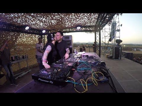 PETDuo B2B set @ The End Of the World Festival, Tarragona, Spain 2017