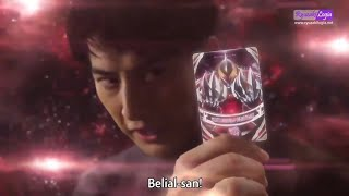Ultraman Orb use Ultraman Belial fusion card for first time