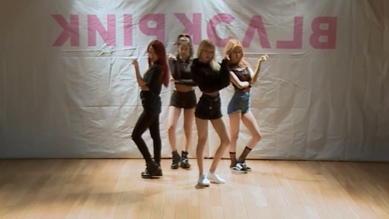 Blackpink 불장난 Playing With Fire Dance Practice Mirror