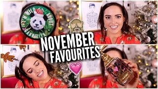 NOVEMBER FAVOURITES! Beauty, TV Shows, Youtubers + More!