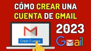 Como Crear Una Cuenta De Gmail Crear Cuenta De Google Y ✉ Correo Electronico 2020 ✅