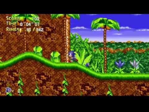 Sonic The Hedgehog Classic (Fan Game) Part 1