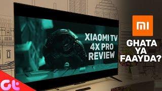 "Xiaomi Mi 4X Pro 55"" 4K Smart TV Review After 30 Days With Mi Soundbar | GT Hindi"