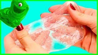 Как сделать лизуна? Слайм из клея и соли Лизун в домашних условиях