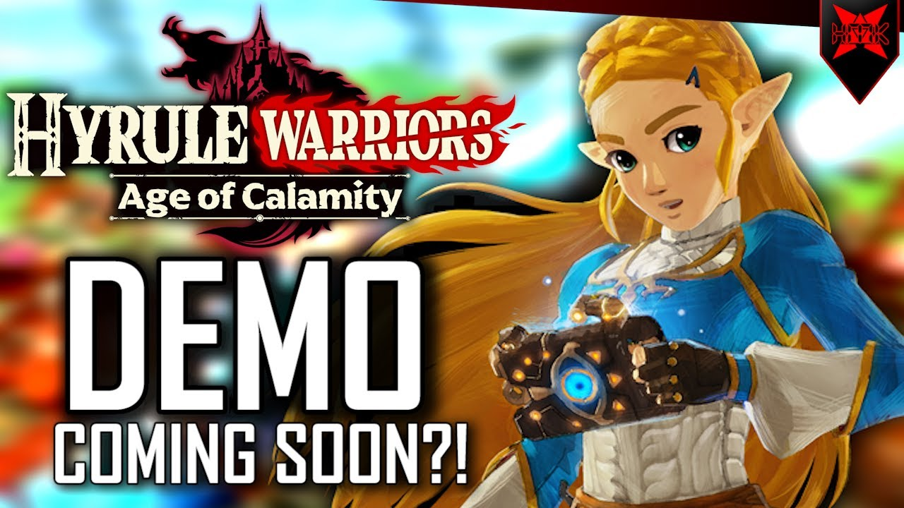 Hyrule Warriors Age Of Calamity Demo Coming Soon Youtube