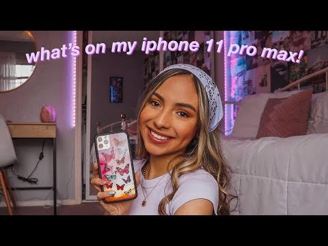 """what""""s-on-my-iphone-11-pro-max!-*updated-2020*"""