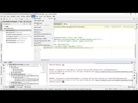 Add Google Maven repository to Android Studio project - YouTube