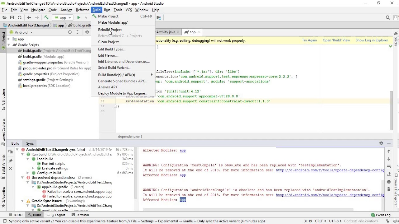 Add Google Maven repository to Android Studio project