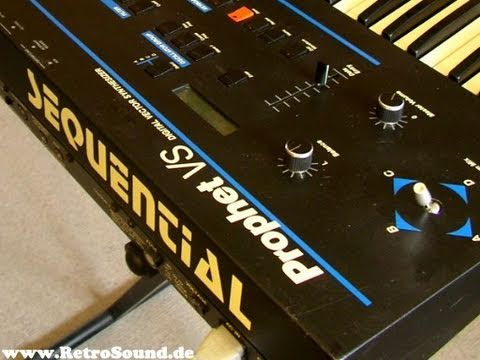 Sequential Circuits Prophet VS Vector Synthesizer (1986)