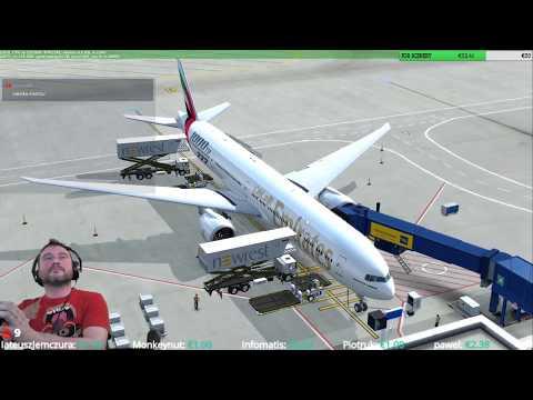 [P3Dv4.1]    Athens Airport (LGAV) → Dubai Airport (OMDB) VATSIM