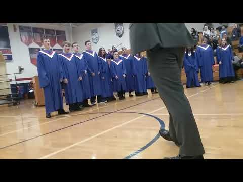 Camanche high school choir
